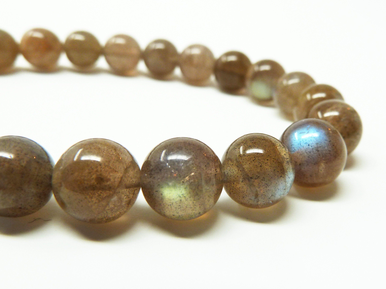Black Tourmaline and Auralite-23 Bracelet 8mm Handmade Bracelet Beaded Gemstone Bracelet Rare Auralite Natural Auralite 23 Crystal Bracelet