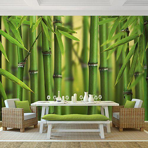 vlies fototapete 9097011a 39 bambus 39 352 x 250 cm runa. Black Bedroom Furniture Sets. Home Design Ideas