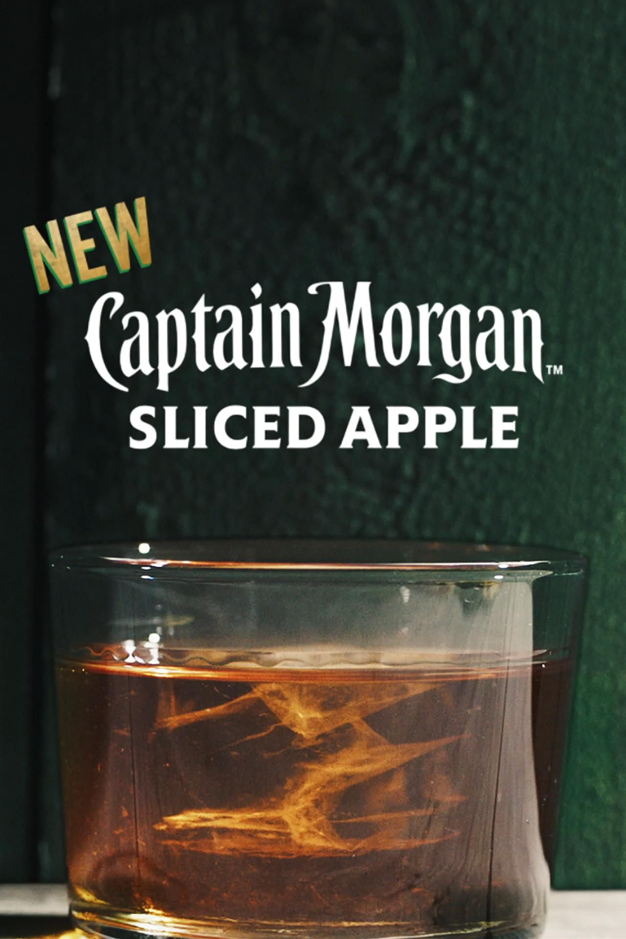 Look Out Below Delicious New Captain Morgan Sliced Apple Is Ready To Make A Splash Dropping Soon Video In 2020 Mixed Drinks Recipes Fun Drinks Halloween Drinks
