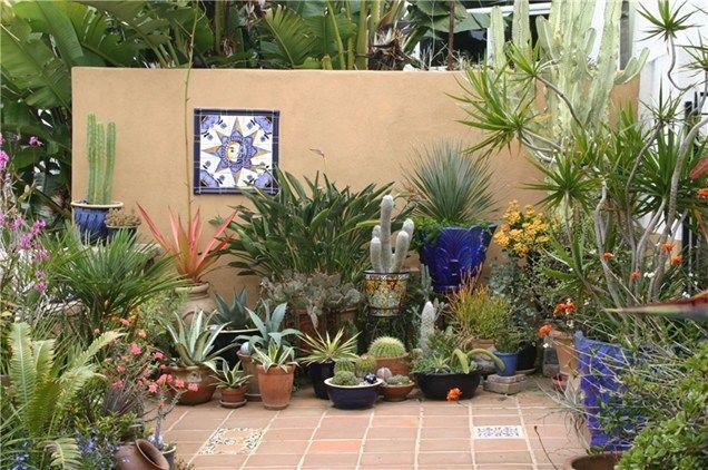Beau Container Gardens Bishop Garden Design San Diego, CA