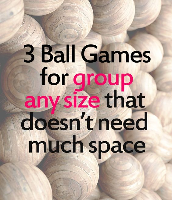 3 fun games involving a ball that you can play indoor or outdoor ...