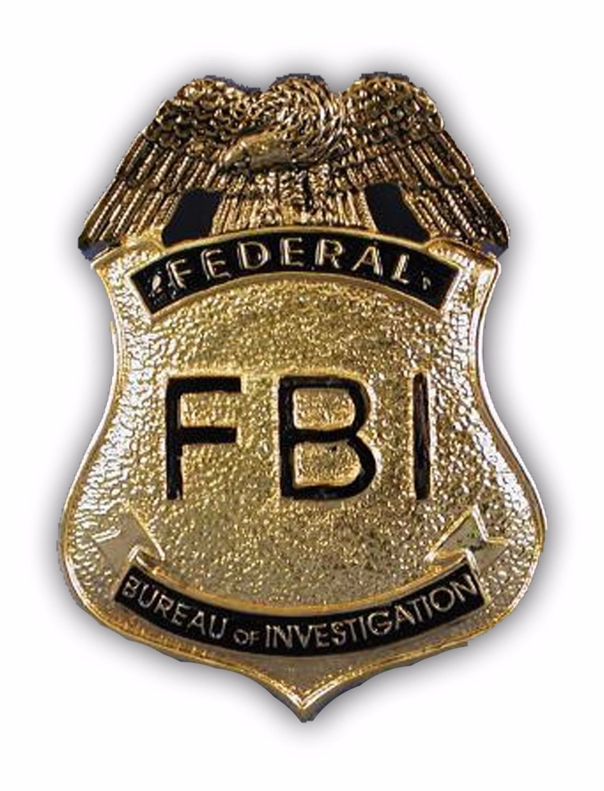 Fbi Agent Police Cop Agent Badge Costume Accessory Pin