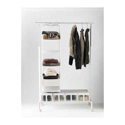 Rigga Ikea Clothes Rack Closet Clothing Rack Bedroom
