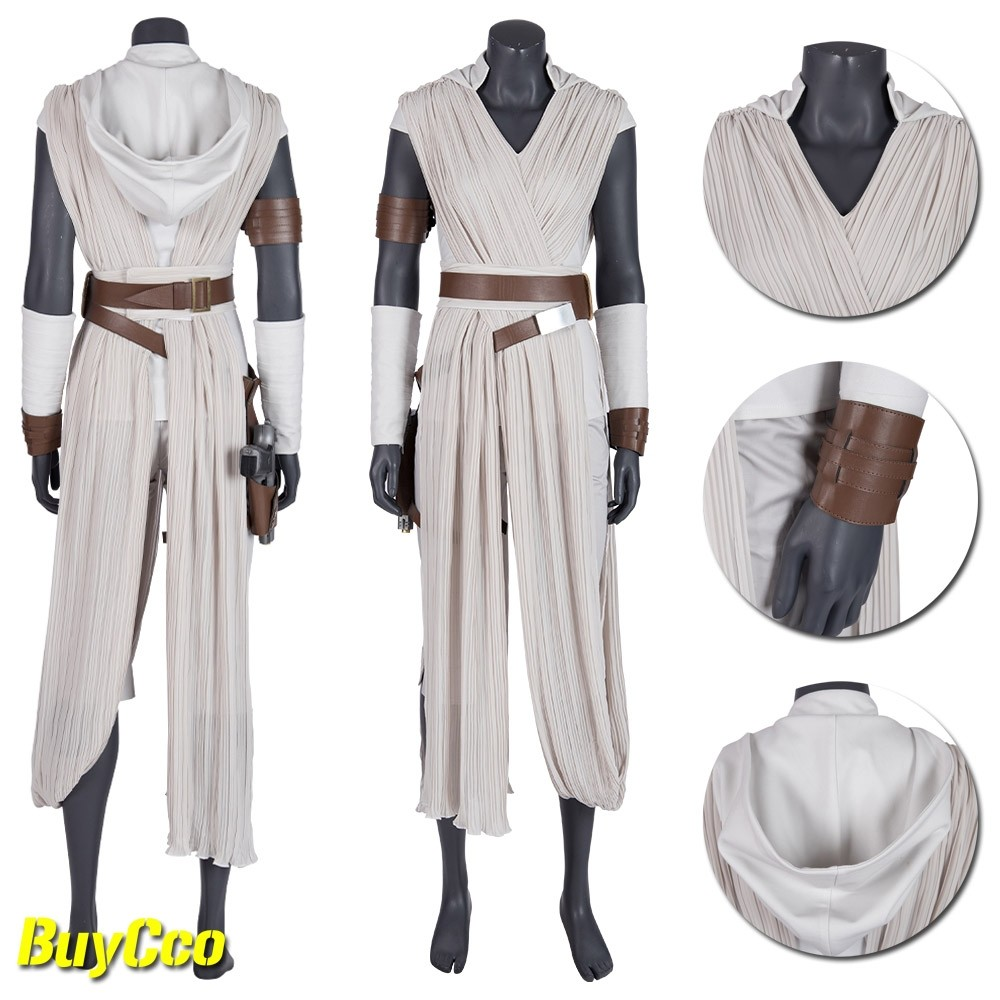 Rey Cosplay Costume Star Wars The Rise Of Skywalker Rey Suit Xzw190282 Rey Cosplay Star Wars Outfits Ray Costume Star Wars