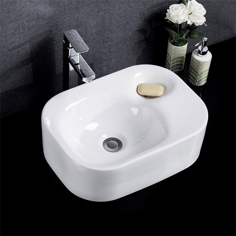 手洗い鉢 洗面ボウル 洗面台 手洗器 洗面ボール 陶器製 円形 排水金具
