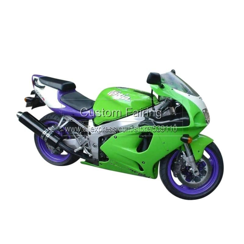 Free Custom Motorcycle Fairings For Kawasaki Zx7r Ninja 1996 2003