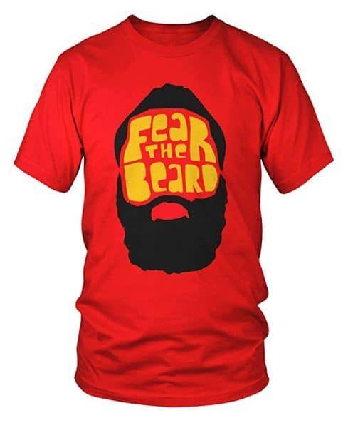 92208976305 James Harden Fear the Beard Houston Rockets T-Shirt | Sports T ...