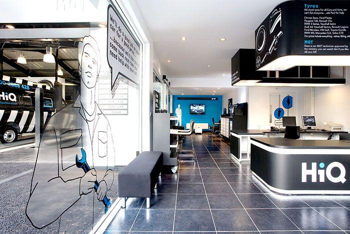 Fitch Hiq Nottingham With Images Showroom Interior Design