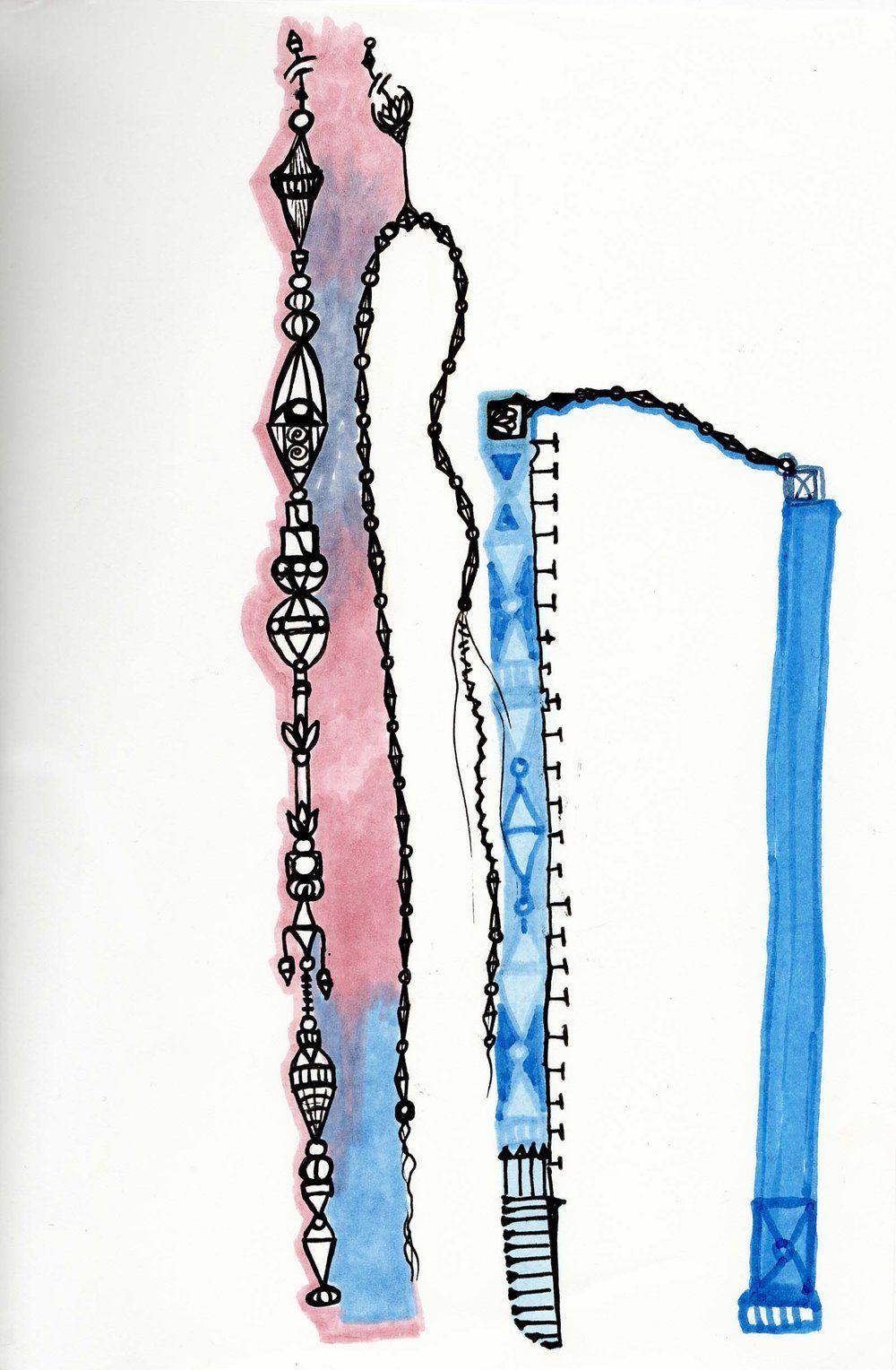Sketchbook Scan from Beth Ortman Studio     ©Beth Ortman