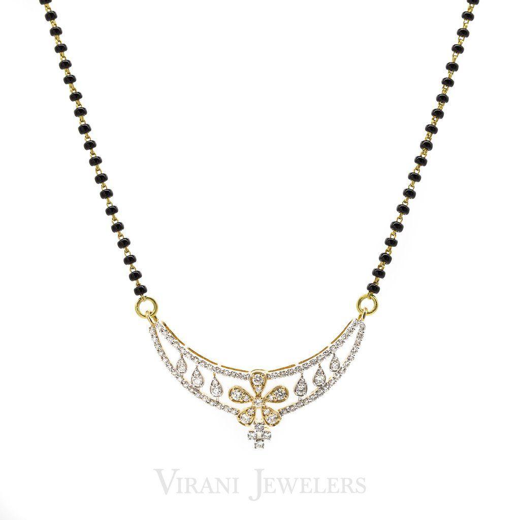 Diamond Pendant Mangalsutra