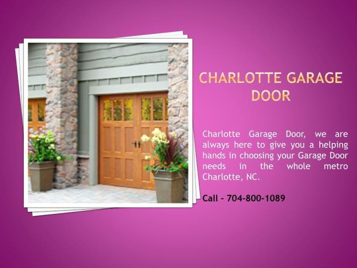 Garage Door Repair Installation In Charlotte Nc Garage Doors