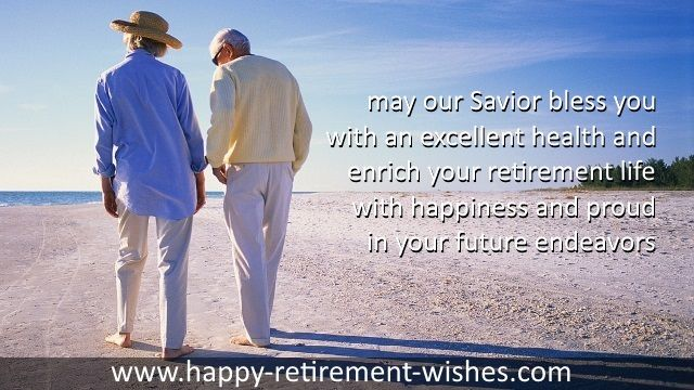 Christian Retirement Wishes For Friend