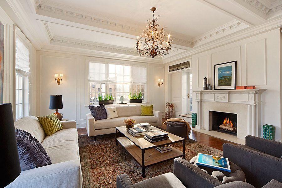 Nate Berkus' stylish living room