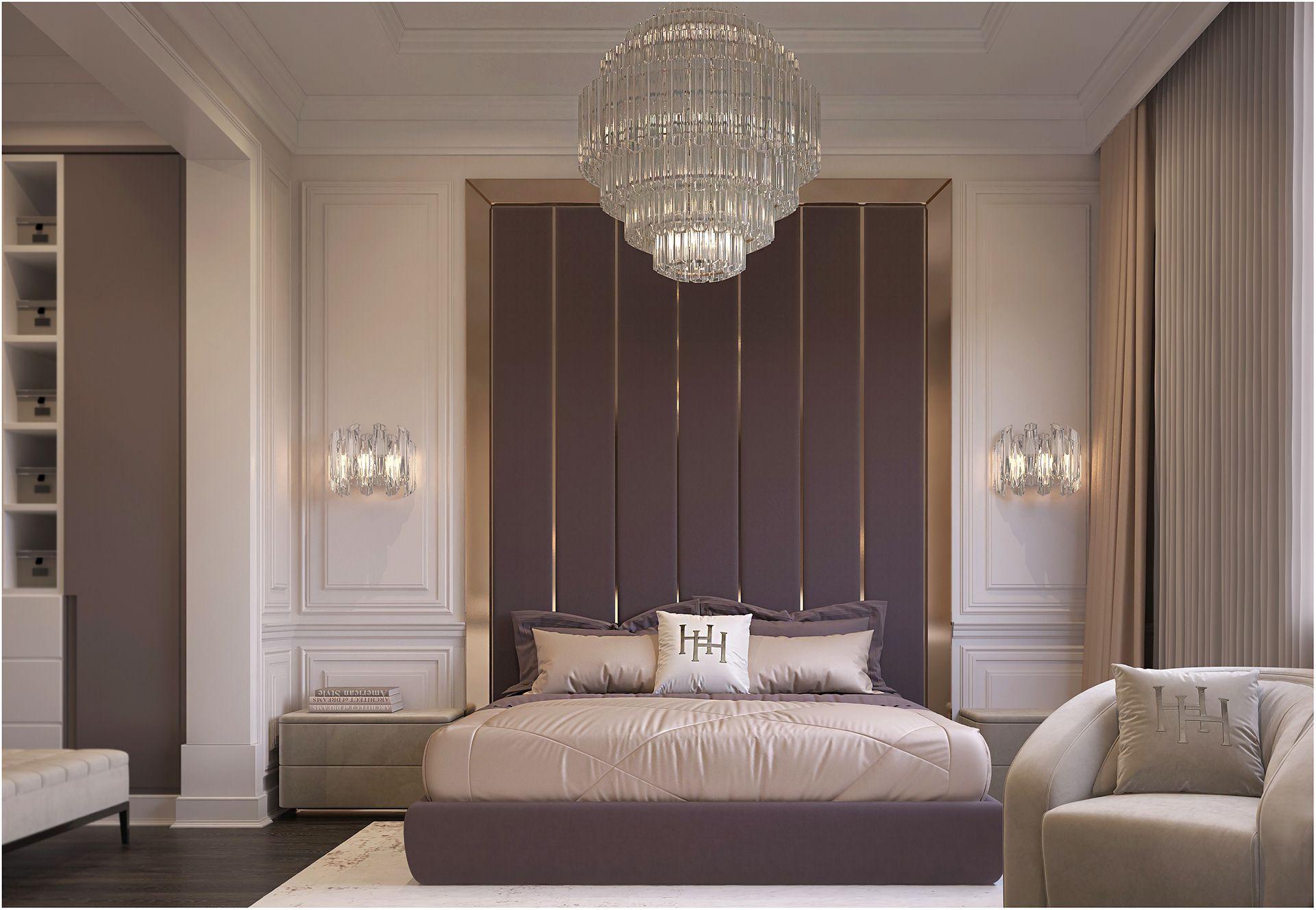 Bedroom design on Behance   Room design bedroom, Modern classic ...