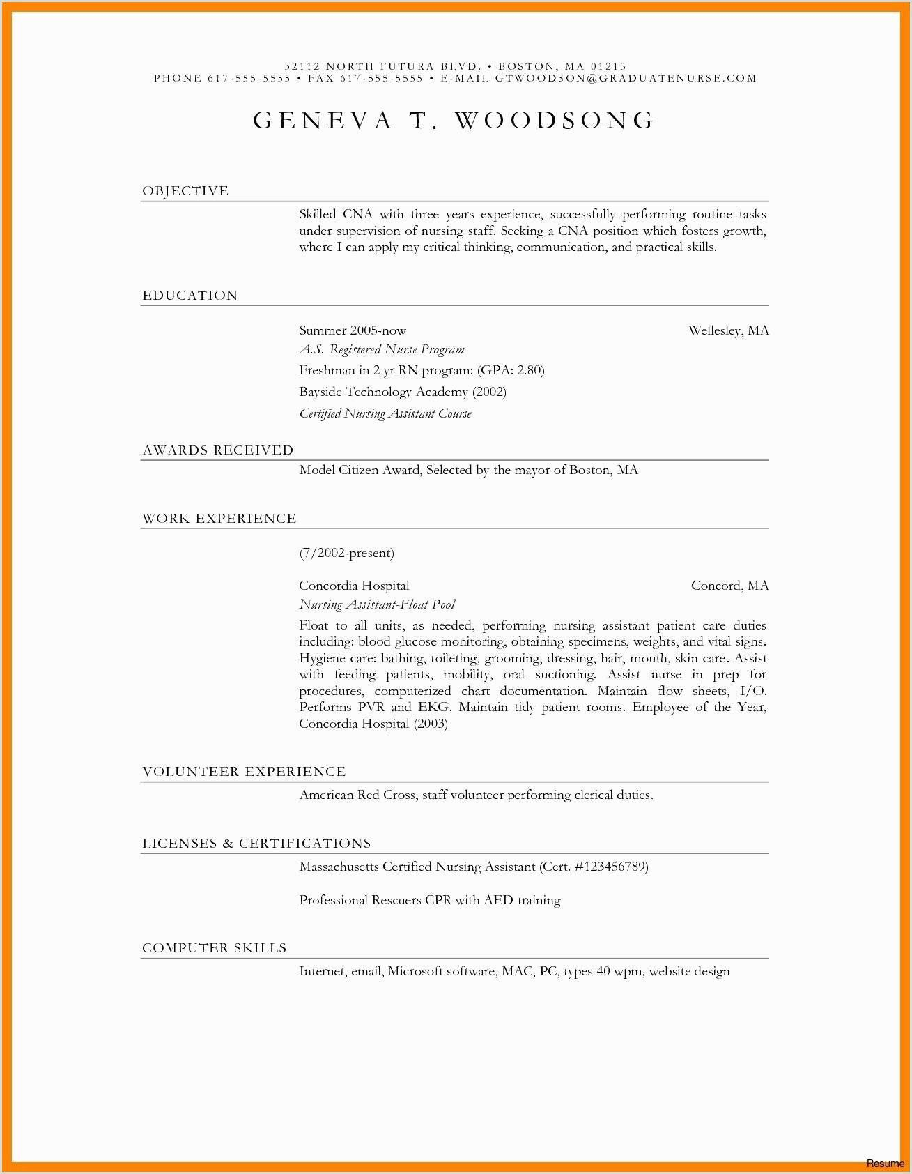 Standard Cv format Singapore in 2020 Unique resume