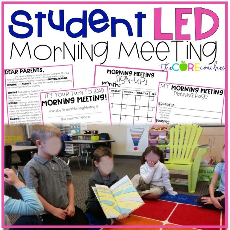 Why is Morning Meeting Magical? Responsive classroom