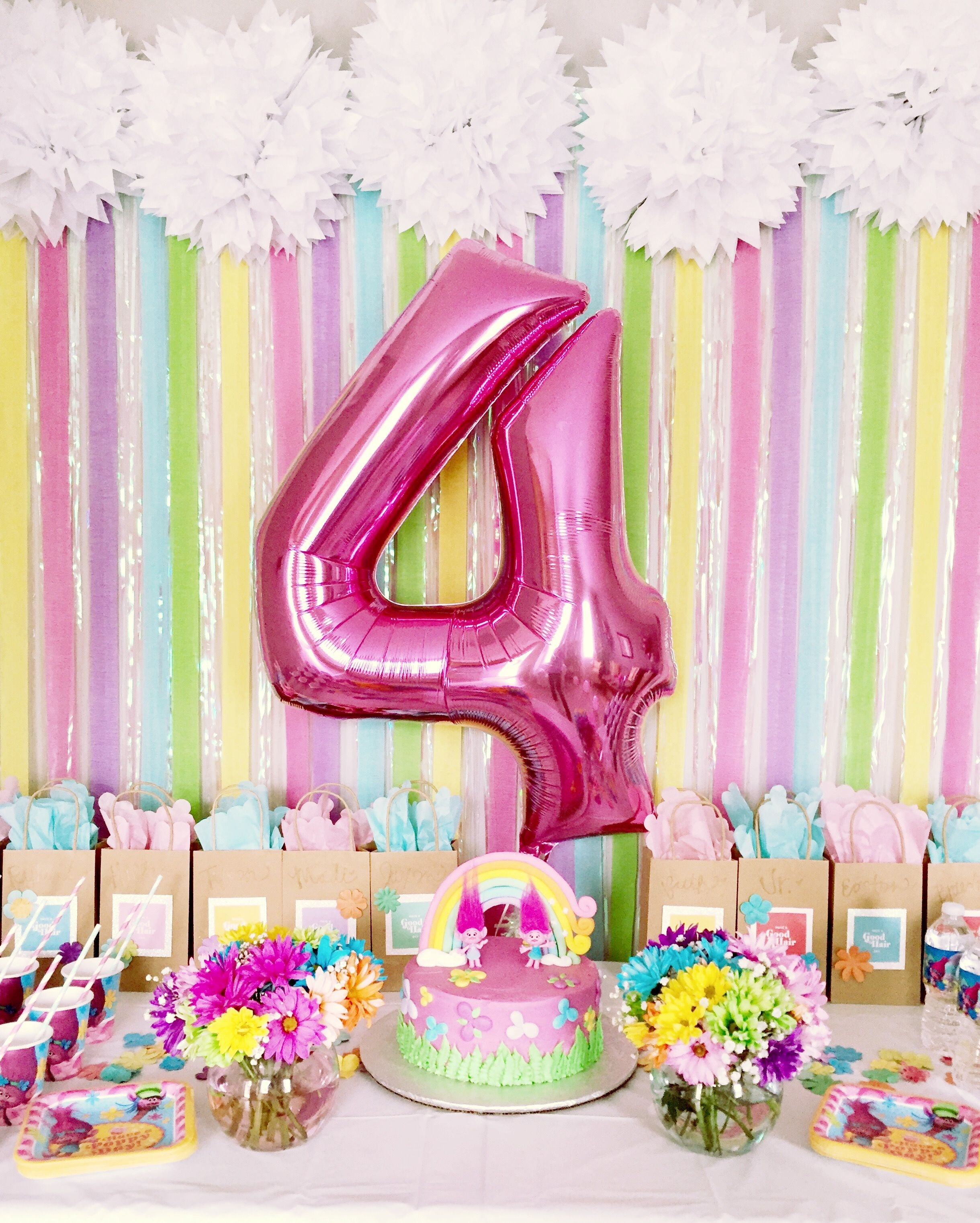 image result for trolls table decorations ideas  festa alice