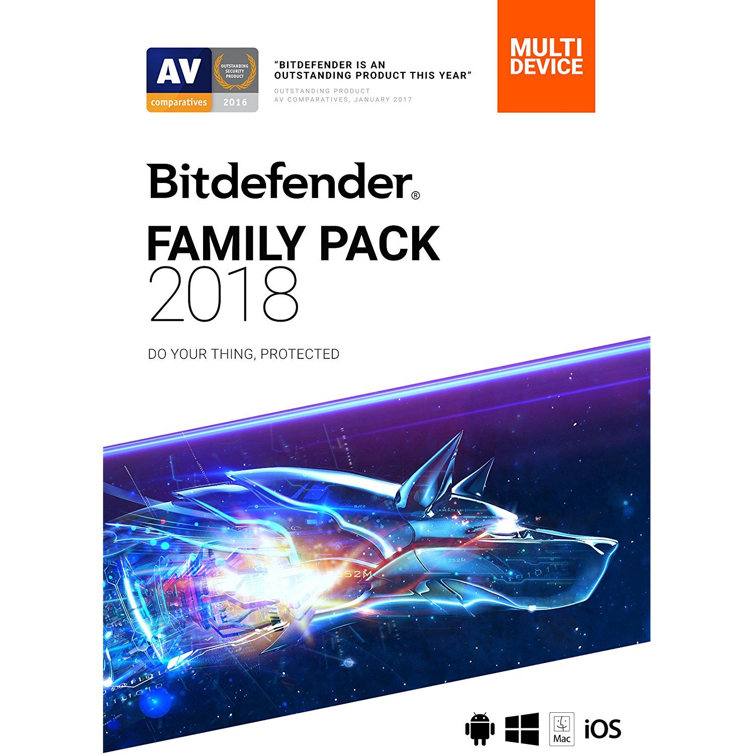 Bitdefender Family Pack 2018 Unlimited Devices 1 Year Online Code Want To Know More Click On The Image This Is An Affiliate Link