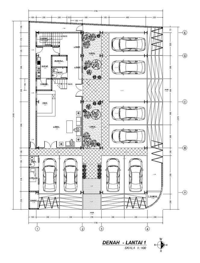 Andyrahman Architect Projects Denah Rumah Rumah Mungil Rumah