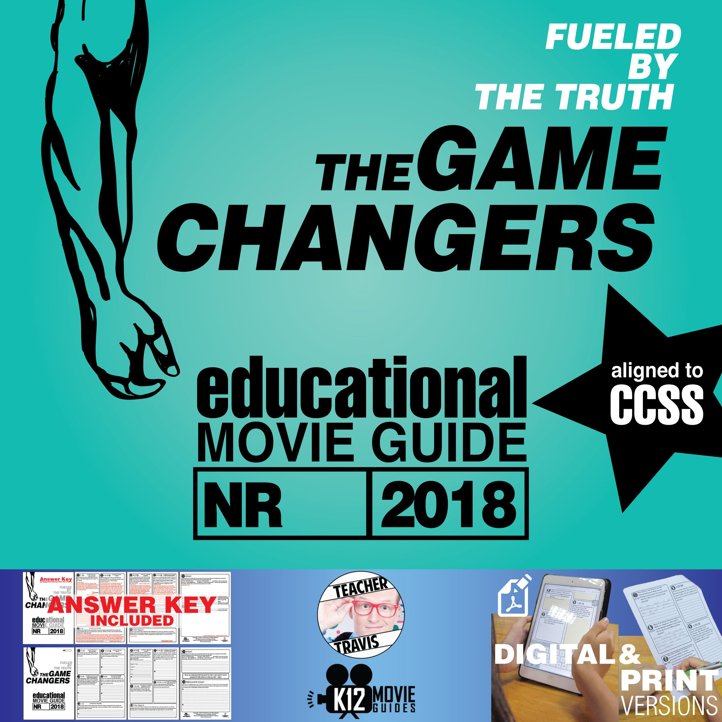 The Game Changers Documentary Movie Guide Questions