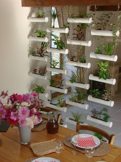 Le rideau v g tal mur v g talis interieur exterieur design v g tale pinterest jardiner a - Mur vegetal interieur diy ...