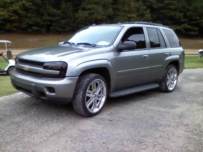 Chevy Trailblazer With 22 Inch Rims Find The Classic Rims Of Your