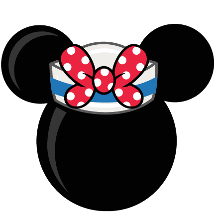 Mouse Head With Sailor Hat Freebies Free Svg Files For Scrapbooking Free Svg Files F Disney Cruise Door Decorations Disney Scrapbook Disney Cruise Door Magnets
