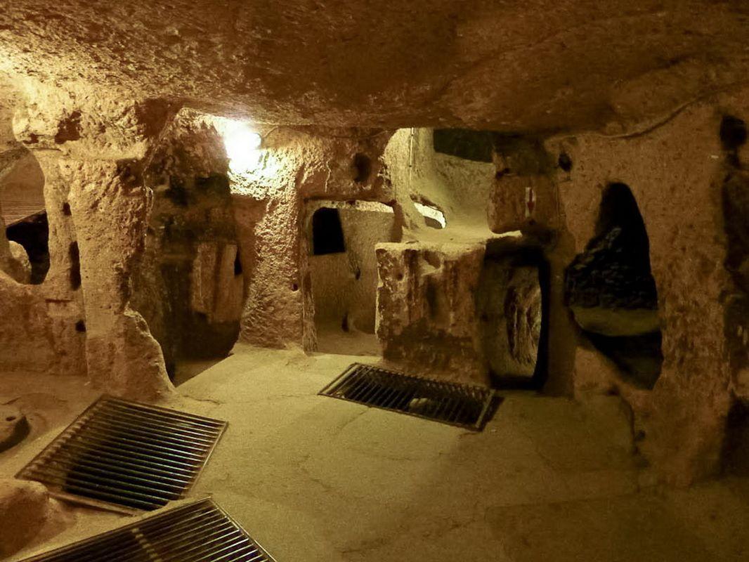 Explore Turkey's Underground Cities