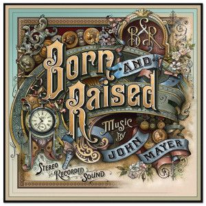 Born And Raised Large Wall Poster John Mayer Album Cover Art John Mayer Album