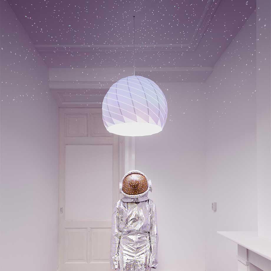 Light in fascinating originality