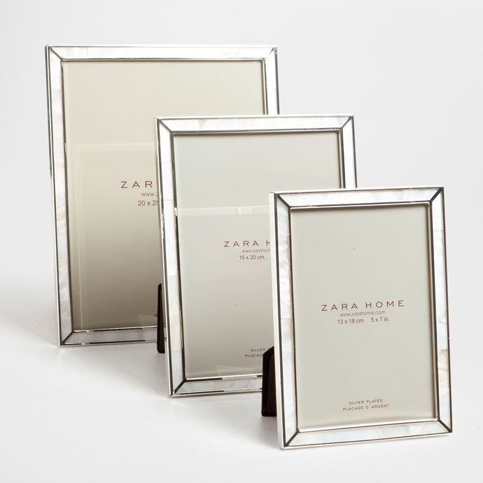 640d21155f95 MOTHER-OF-PEARL FRAME WITH METAL TRIMS - See all - PHOTO FRAMES - Decoration