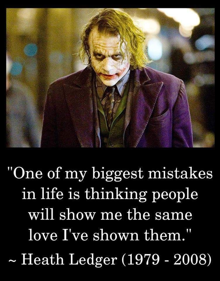 Heath Ledger Joker Quotes Best Joker Quotes Villain Quote