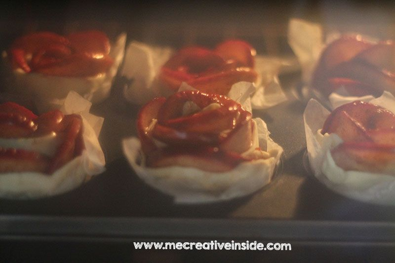 tutorial come fare rose di mele ricetta ME CreativeInside