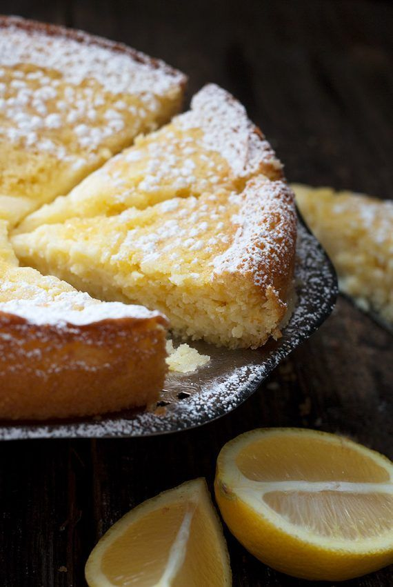 Lemon Cream Butter Cake - Seasons and Suppers