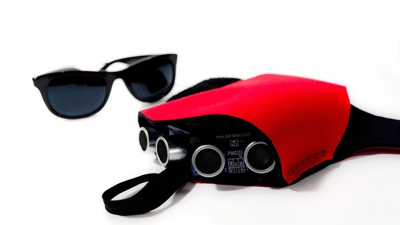 Project Tacit Sonar For The Blind Tacit Is A Hand Mounted Device To Let The Blind Re Assistive Technology Devices Wearable Technology Wearable Tech