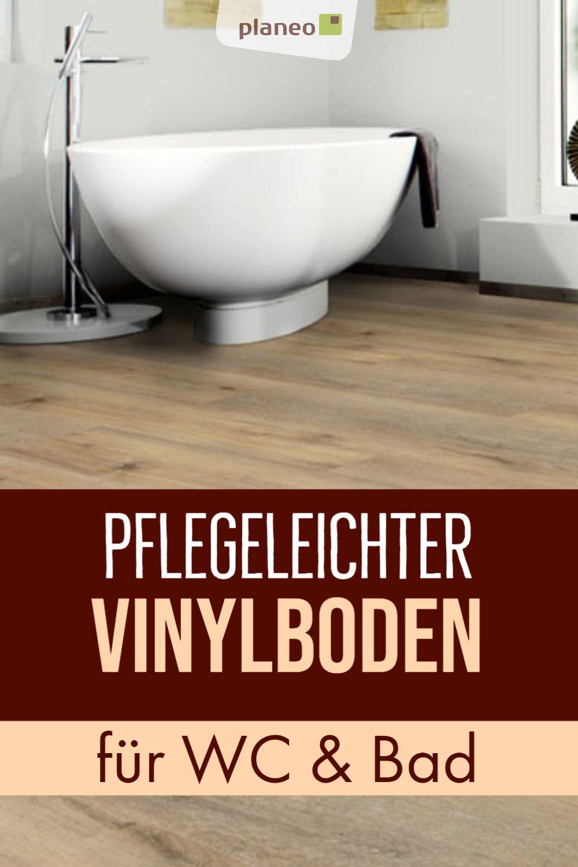 Vinylboden Fur Badezimmer Wasserfest Wie Fliesen Aber Fusswarm Geprufte Qualitat In 2020 Vinylboden Badfliesen Holzoptik Vinyl