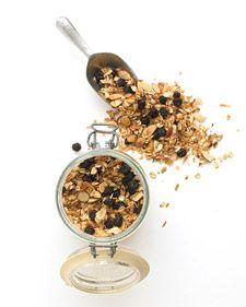 Blueberry-Almond Granola | Recipe | Almond granola, Cereal ...