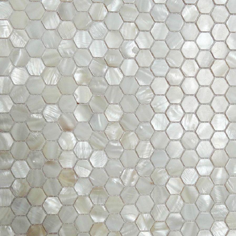 Amerikanischen Sechs Perlmutt Fliesen Weissen Mosaik Backsplash Kuche Wandfliese Aufkleber Duschbad Wandfliesenbode Mosaikfliesen Kuchenfliesen Wand Wandfliesen