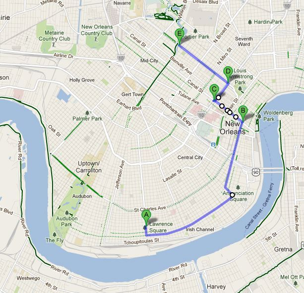 New Orleans By Bike: Bayou St. John | Louisiana-A Part Of My ...