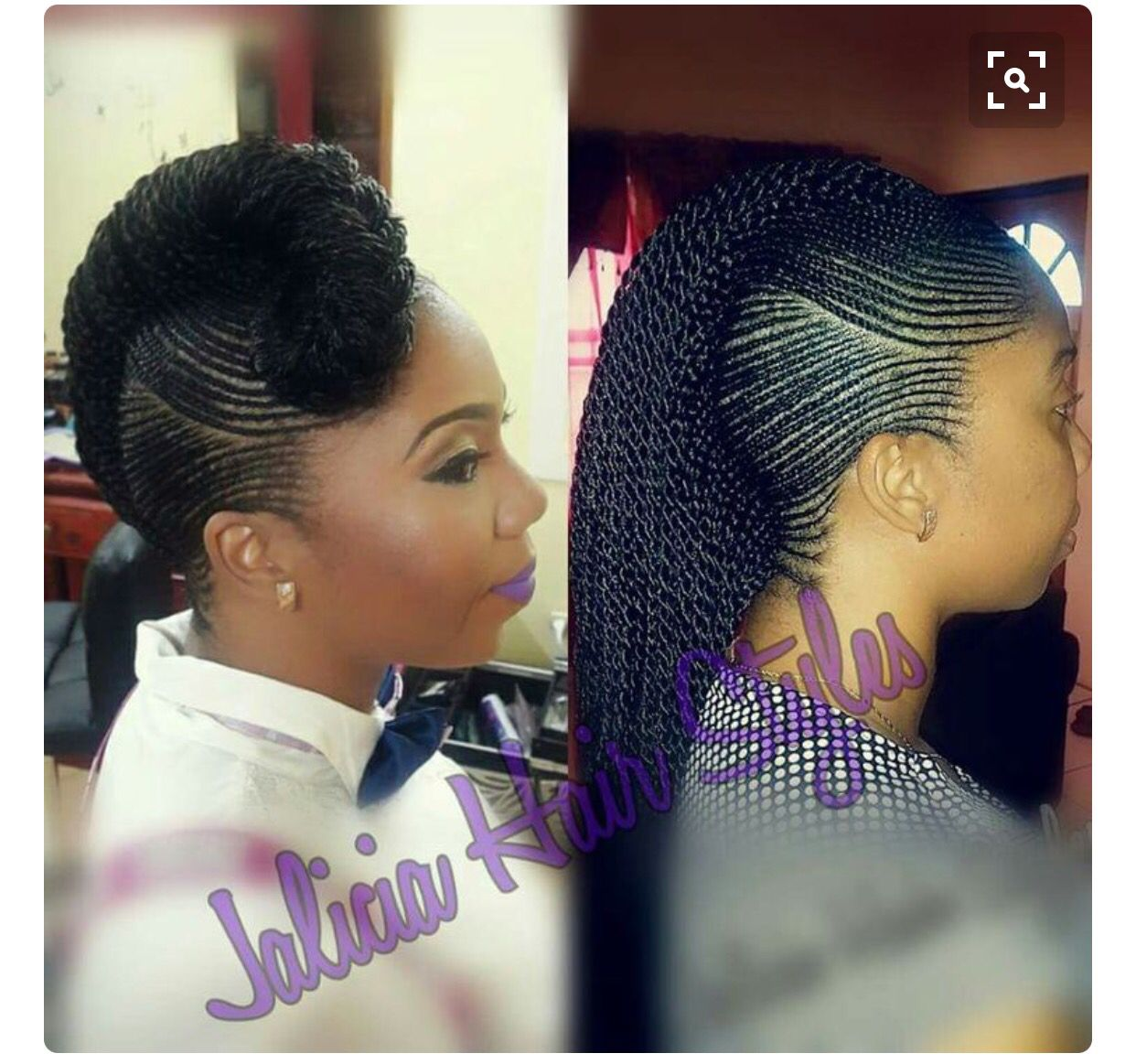 Mohawk braids hairdo pinterest mohawks hair style and braid