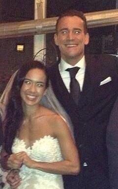 PHOTO CM Punk AJ Lee Wedding Picture SEScoops stars i love