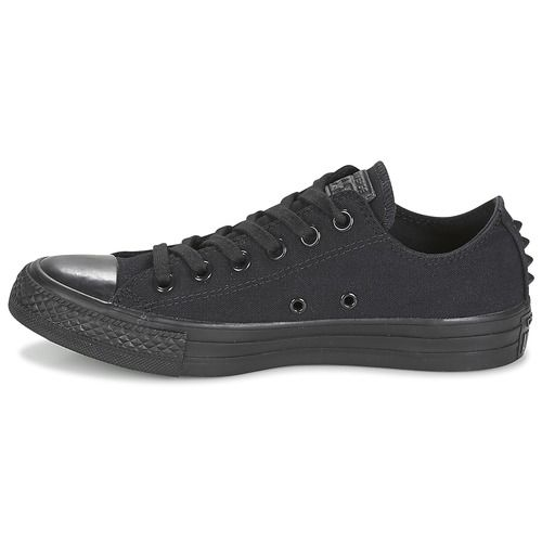 77be98d99ca5 Schoenen Dames Lage sneakers Converse Chuck Taylor All Star Ox Canvas +  Studs Zwart