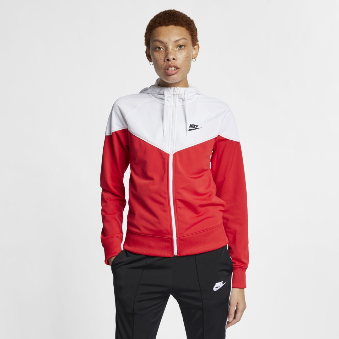 aa01297ec6d1 Nike Sportswear Heritage Women s Full-Zip Hoodie Size S (University Red)