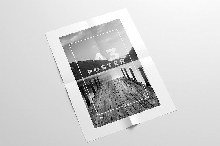 A3 Poster Mock Up 18572 Posters Design Bundles Poster Mockup Free Packaging Mockup Design Mockup Free