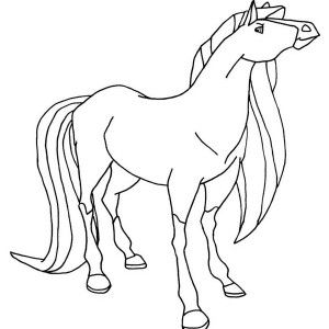 Princess Linias Horse from Horseland Coloring Pages Batch