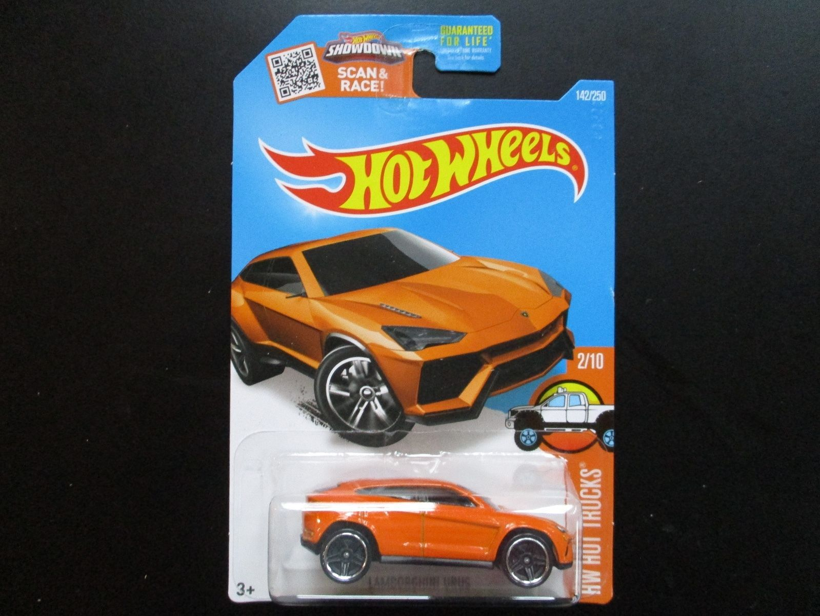 2016 Hot Wheels Hot Trucks Urus Orange PR5