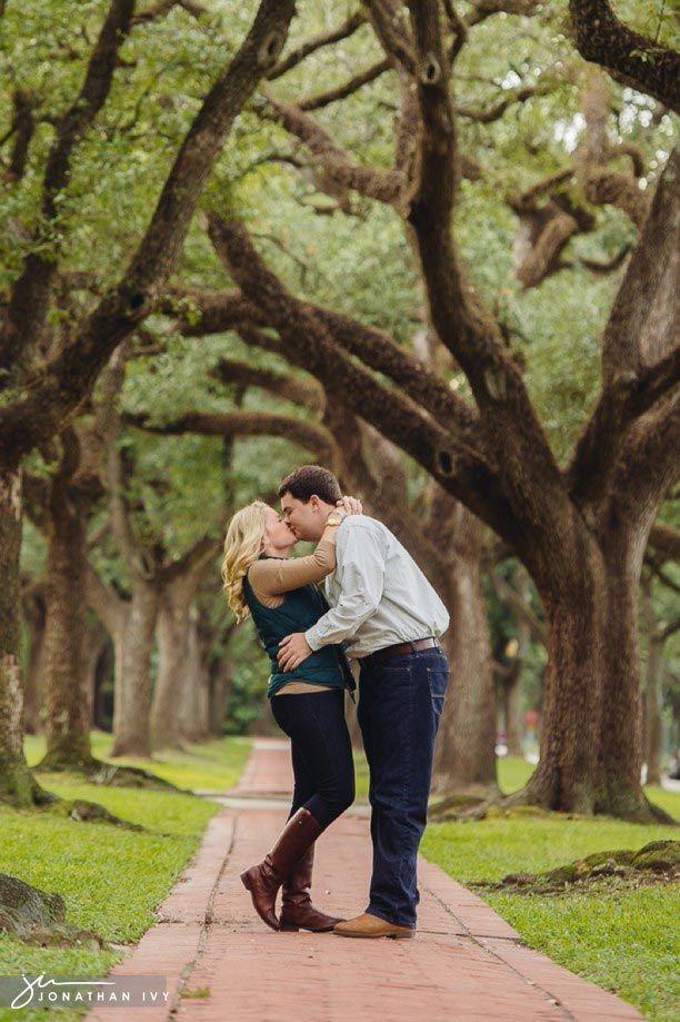 Downtown Houston Engagement Photos - Logan & Lacey ...