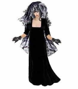 cool gothic corpse bride plus size costumes for curvy women 1x 2x 3x