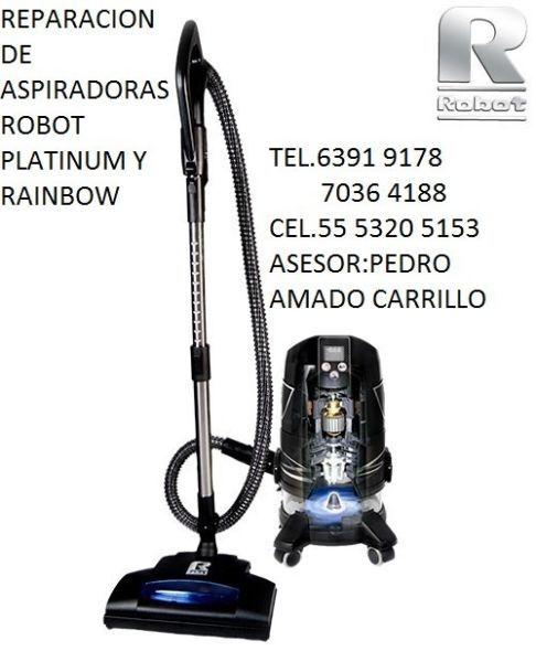 1 Repacion De Aspiradoras Robot Y Rainbow 2 Servicio Preventivo
