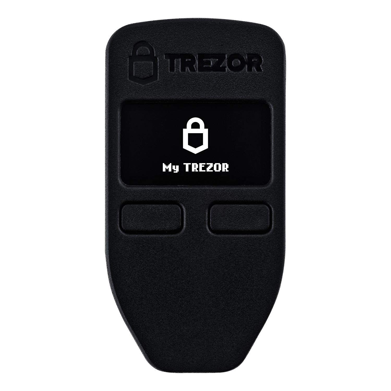 Trezor One Digital Bitcoin Hardware Wallet and Password